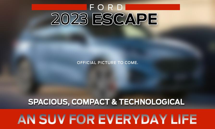 2023 Ford Escape